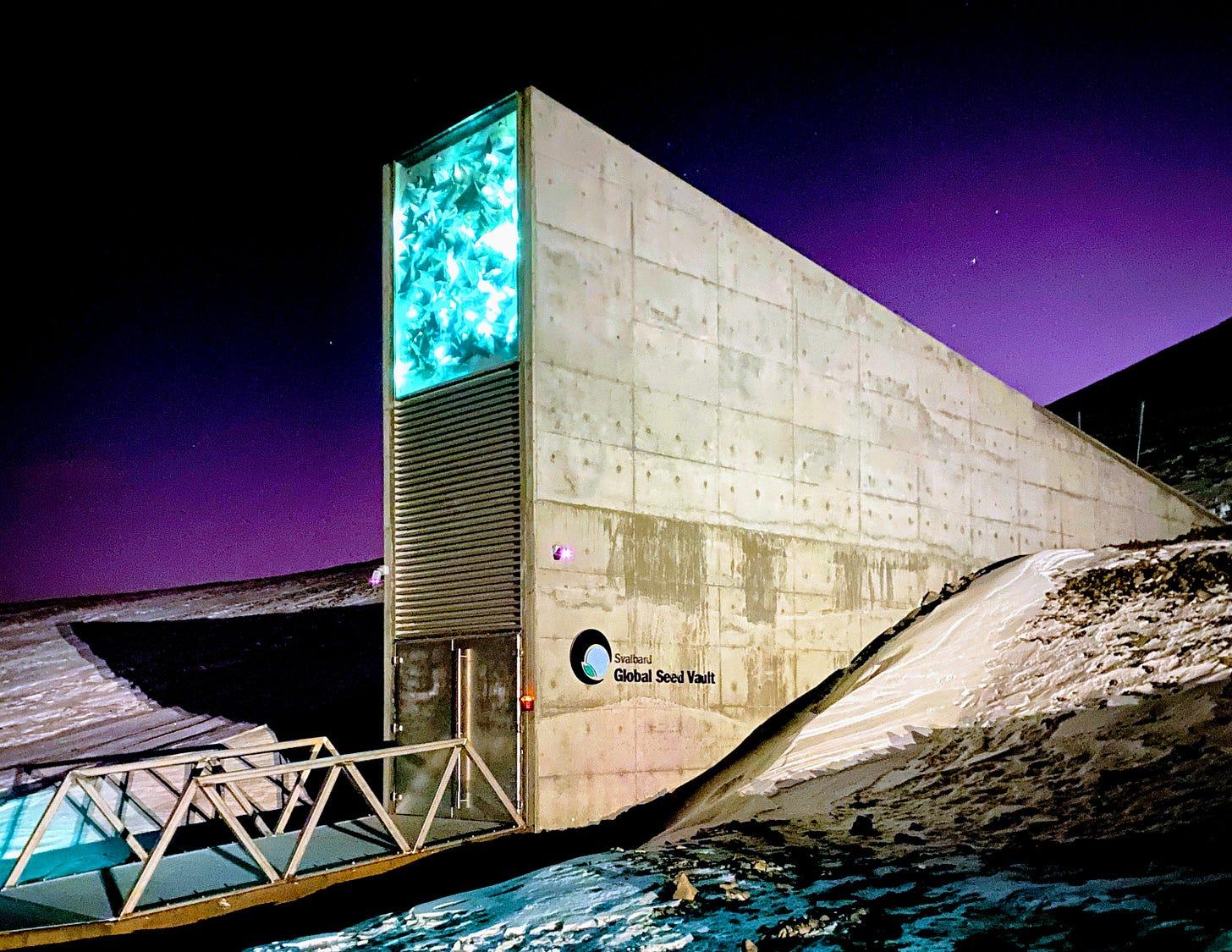 Svalbard Global Seed Vault - Wikipedia