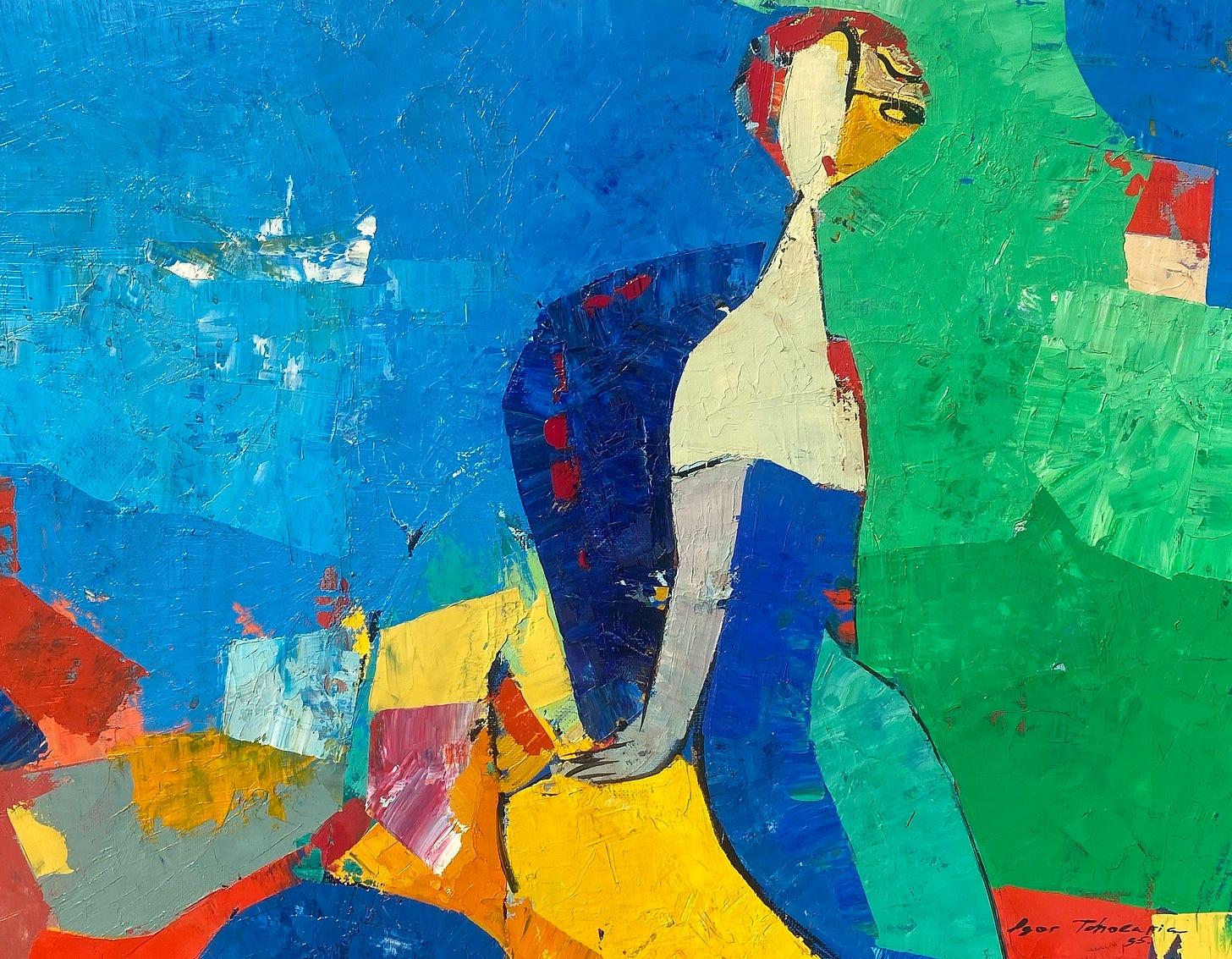 schilderij Igor Tcholaria