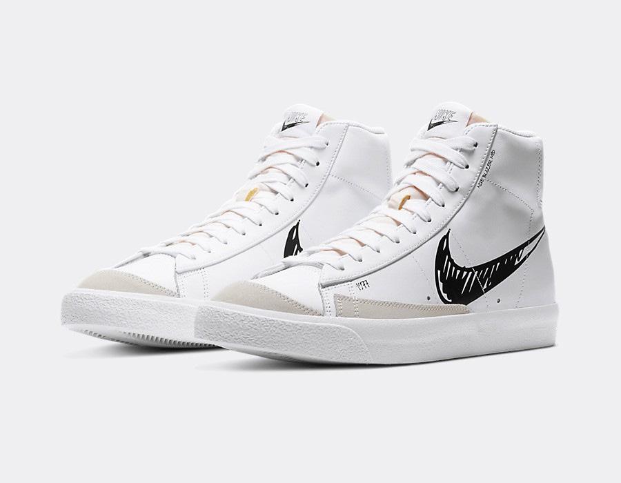 Nike Blazer Mid Vintage 77 Sketch CW7580