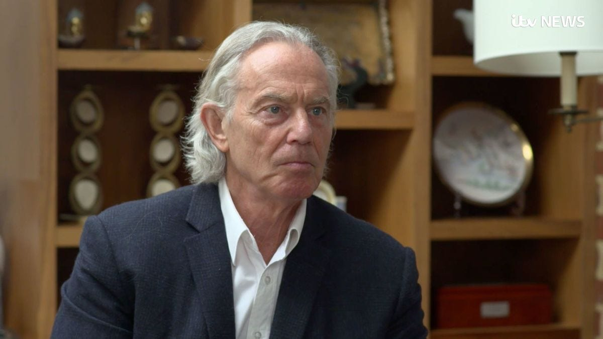 Tony Blair has a mullet now, and it's disturbing Britain - CNN