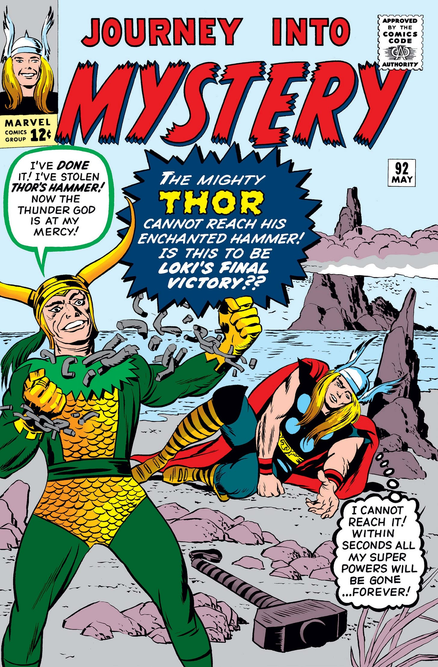 Journey Into Mystery (1952) #92 | Comic Issues | Marvel