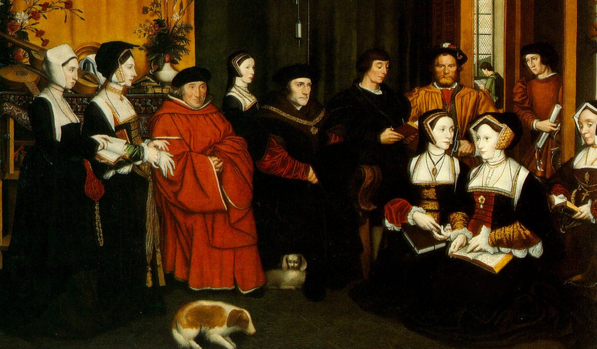 medieval family portrait