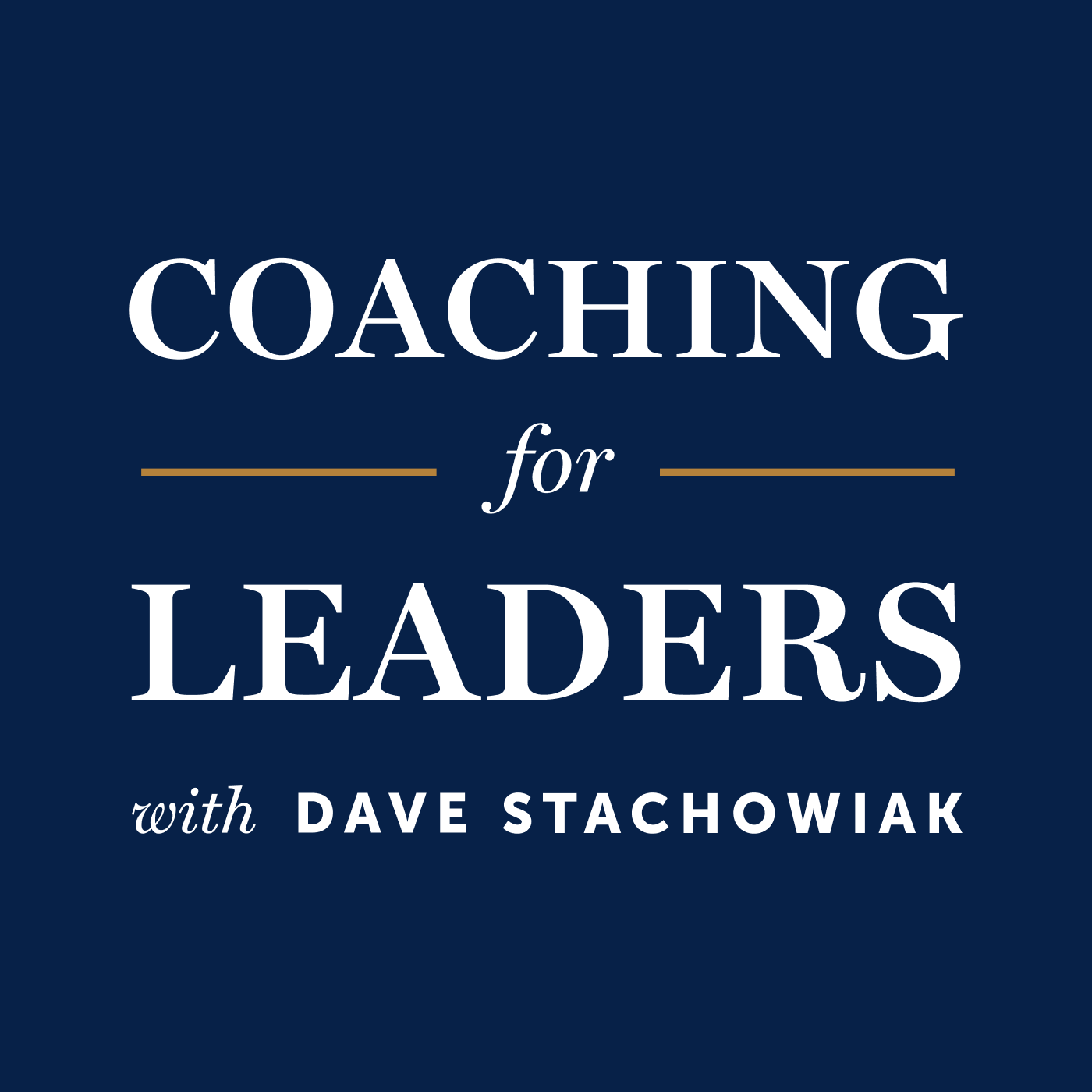 Coaching for Leaders Podcast | Free Listening on Podbean App