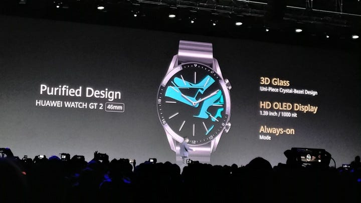 Huawei Watch GT 2 acts more like a smartwatch than the first Watch GT