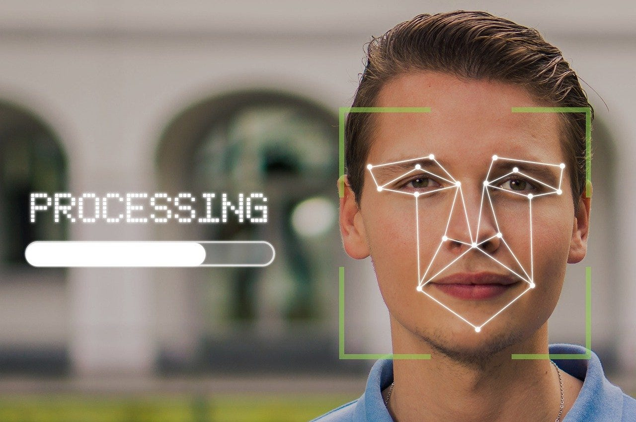 facial recognition processing