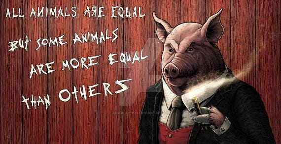 Animal Farm Napoleon Print   Etsy
