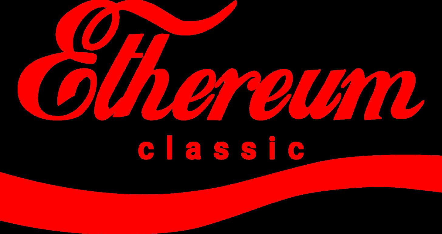 """Ethereum Classic """"Coca-Cola"""" Style Logo (transparent background) - Album on  Imgur"""