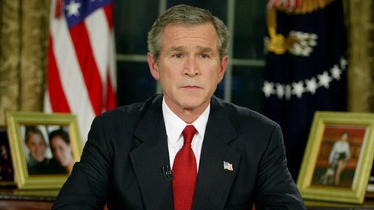 President Bush Announces Start of Iraq War - YouTube