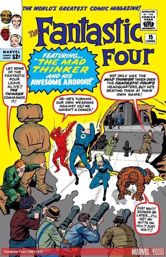 Fantastic Four (1961) #15 | Comic Issues | Marvel