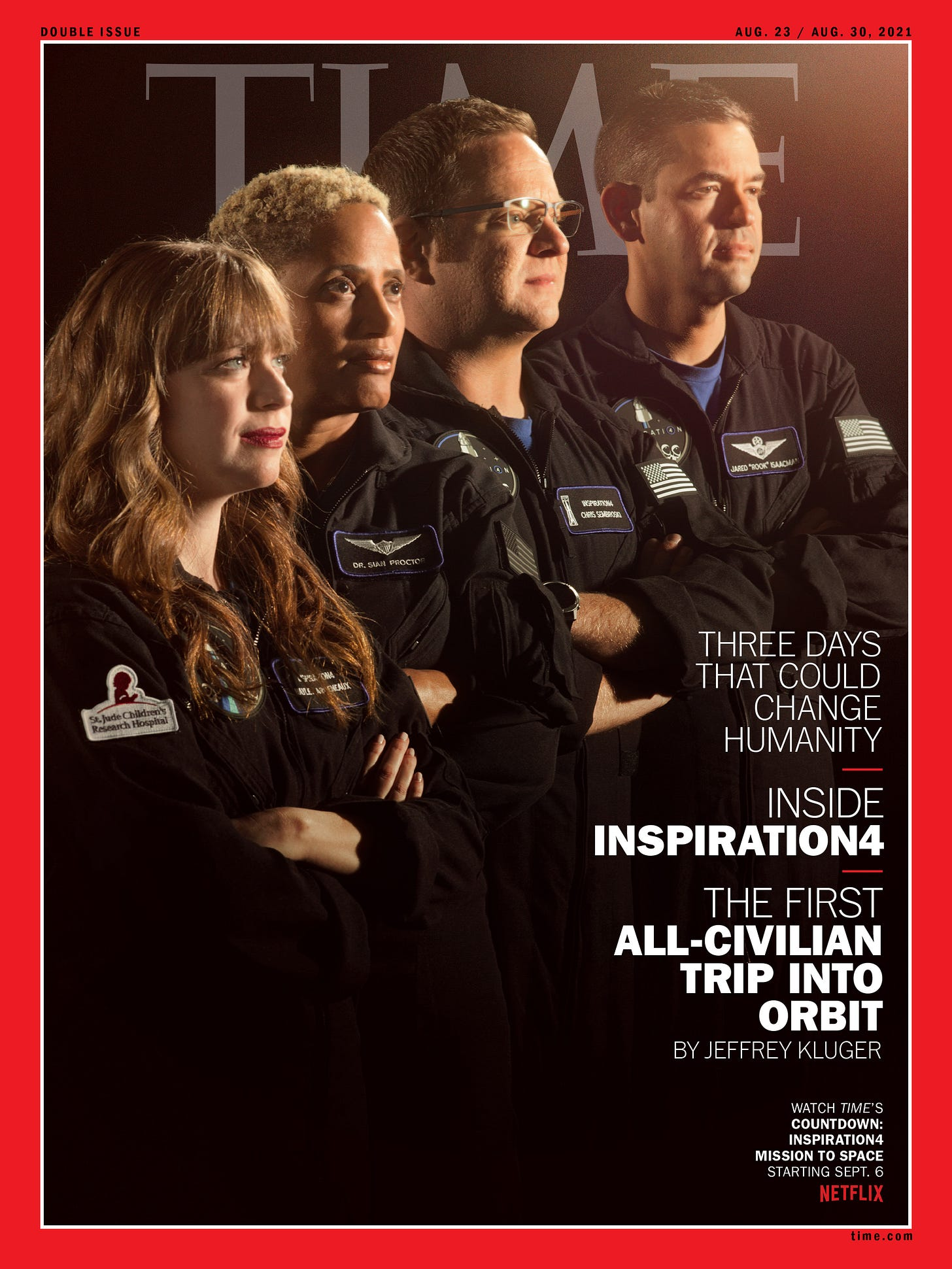 Watch Live: Inspiration4 Crew Launches to Space   TIME