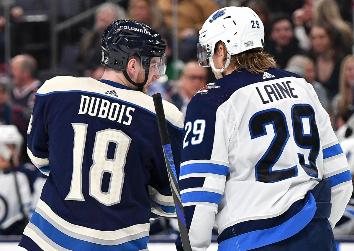 The James Harden act doesn't work in today's NHL. Patrik Laine and Pierre-Luc  Dubois might learn the hard way   The Star