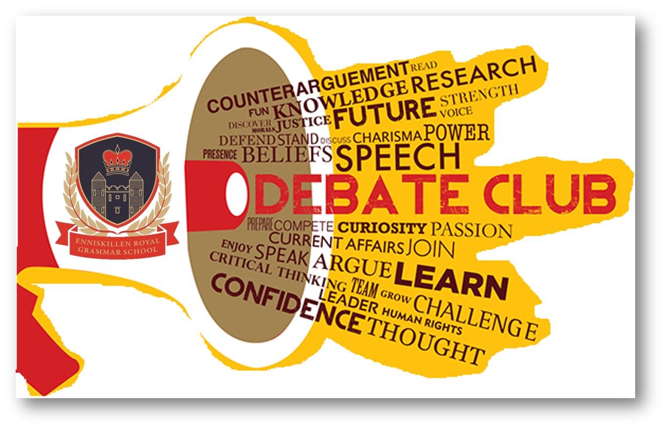 Debating Society update - Enniskillen Royal Grammar School