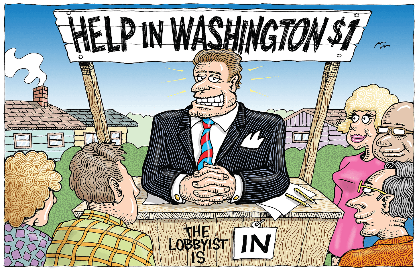 A Lobbyist Just for You   Washington Monthly