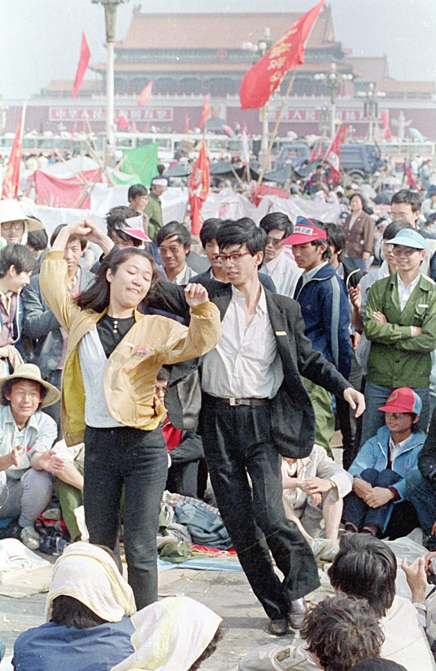 Photos: Tiananmen Protesters Were Heartbreakingly Young, Earnest ...