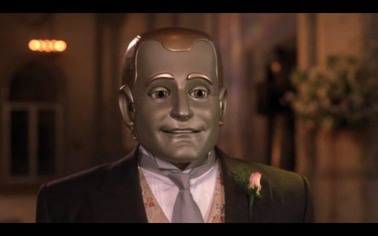 Imagem do filme Homem Bicentenário