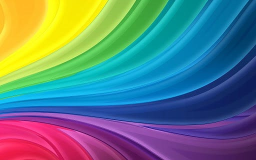 Abstract multicolor rainbows free desktop backgrounds and wallpapers