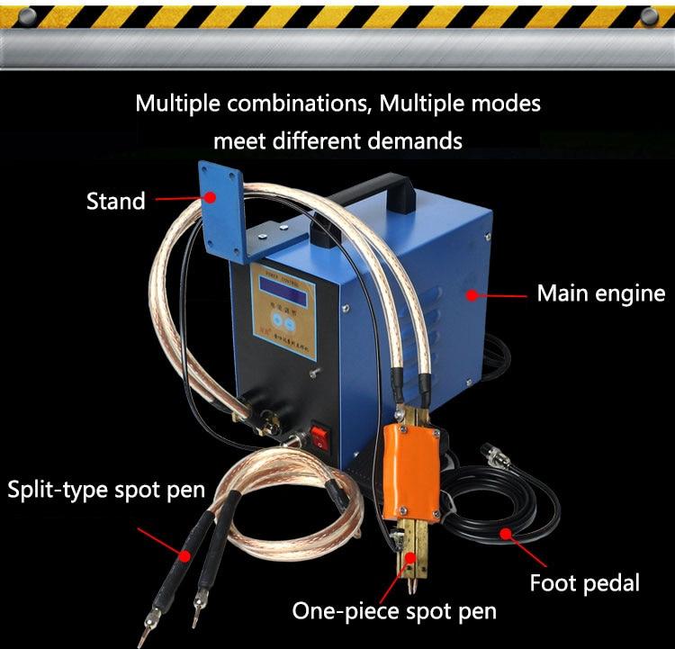 1004786828 Jsd Sc Iii Hand Held Portable 18650 Power Electric Vehicle Battery Spot Welder Welding Machine Tools Welding Equipment