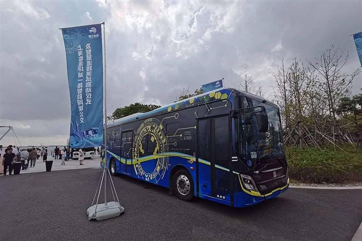 Shanghai Launches First Smart Open Test Road for Driverless Vehicles