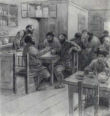 Chekhov's In the Cart by Apsit.jpg