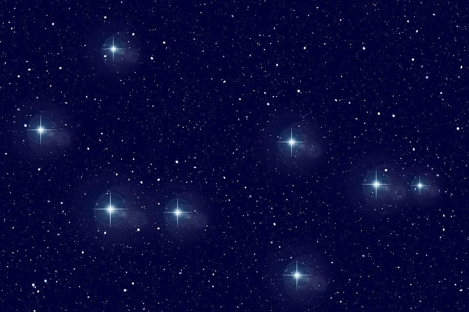 Star, Constellation, Universe, Twin, Sun, Space, Cosmos