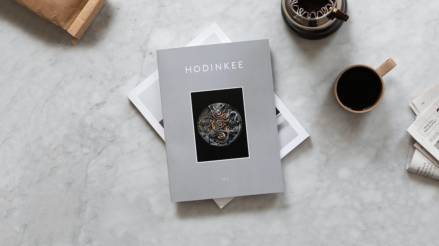 Introducing: The HODINKEE Magazine, Volume 4 - HODINKEE