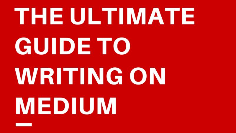 medium writing guide, medium guide, medium blogging guide, medium writer tips, medium writing tips, medium blogging, medium
