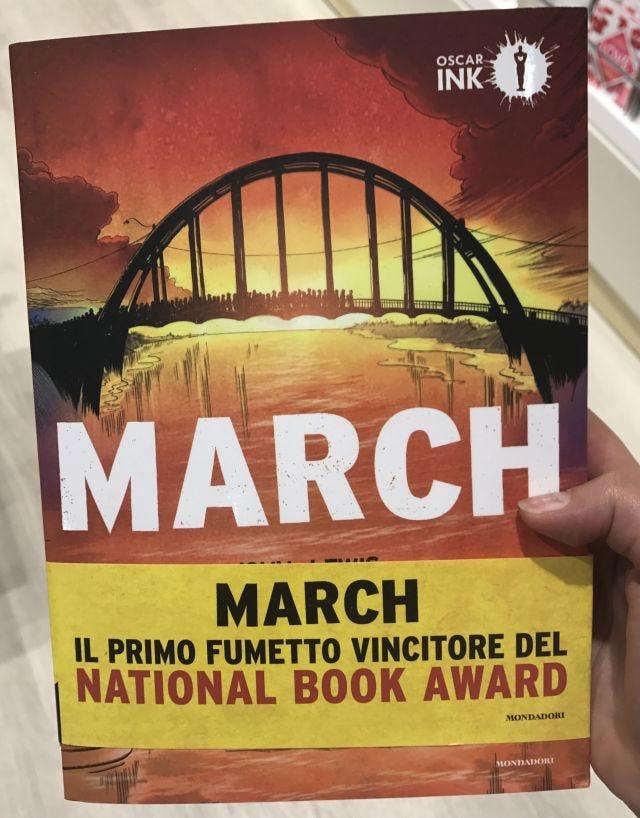 March, dettaglio copertina