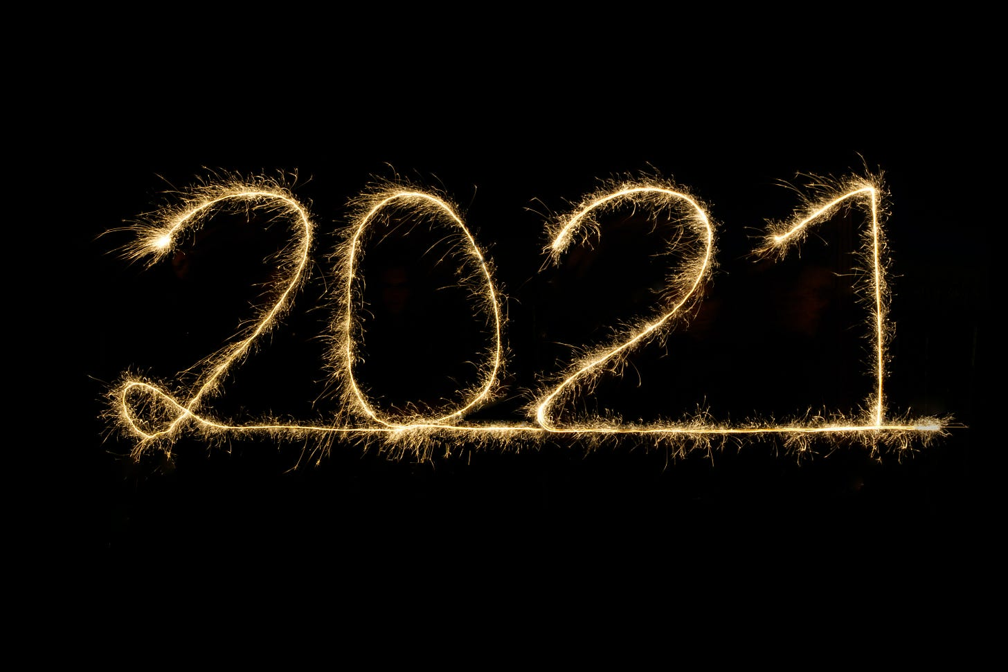 2021 in lights / Moritz Knöringer / Unsplash