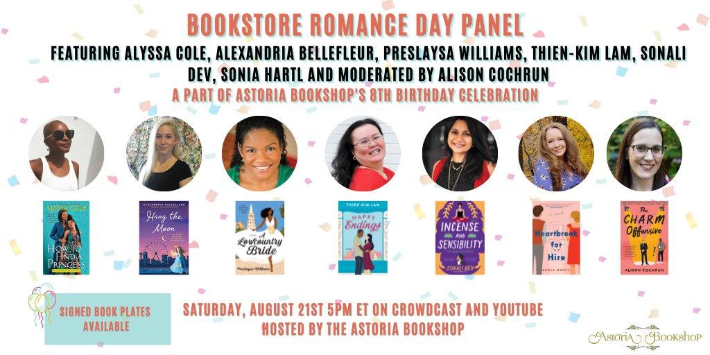 Bookstore Romance Day Panel