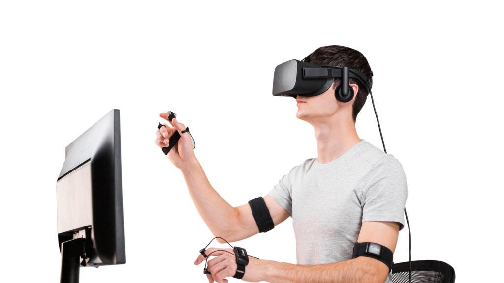 Finch VR DK1 для разработчиков