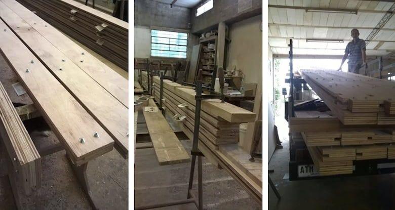 Estructura prefabricada