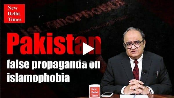 Tarek Fatah: Pakistan false propaganda on Islamophobia