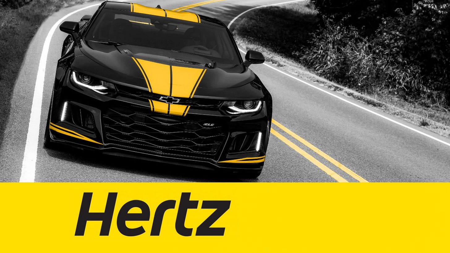 Hertz Isn't So Sure the Travel Industry Will Recover in Time to Save It