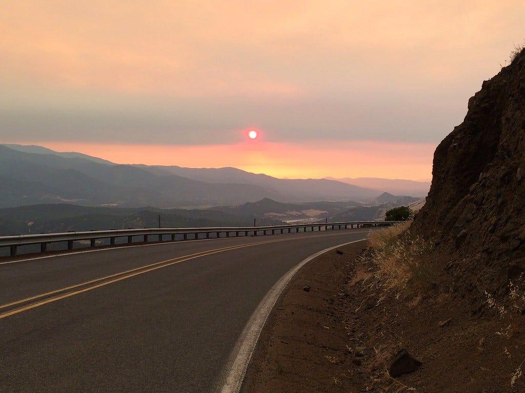 SW Oregon Fires - 2014