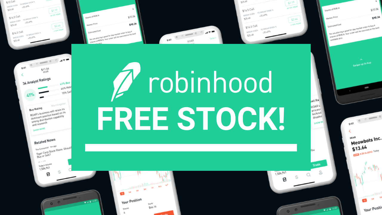 Robinhood Free Stock - How To Get $1,000 In Free Shares