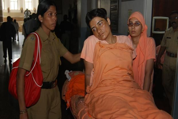 Sadhvi Pragya after torture