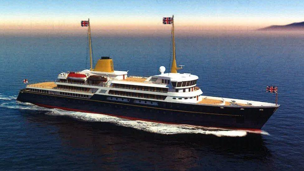 Future flagship yacht