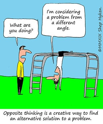 Look Past the Obvious for a Better Solution - Shep Hyken