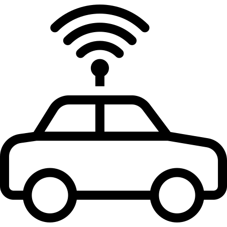 Autonomous Vehicles Icon - Free Download, PNG and Vector