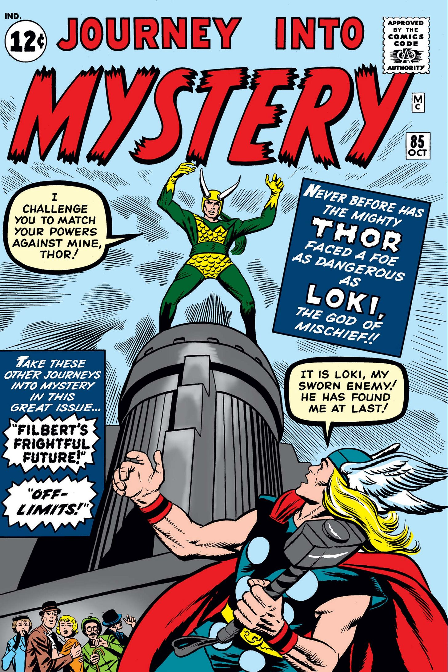 Journey Into Mystery (1952) #85 | Comic Issues | Marvel