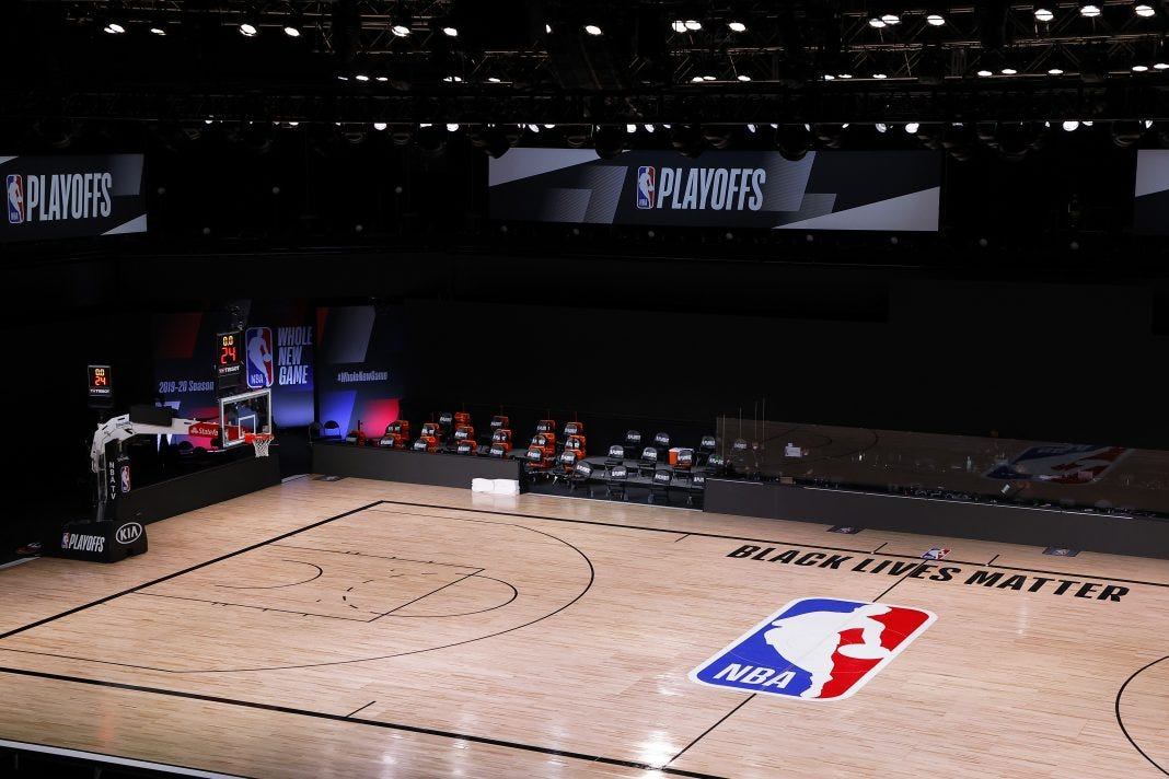 NBA Protest May See Clippers, Lakers Ending Season