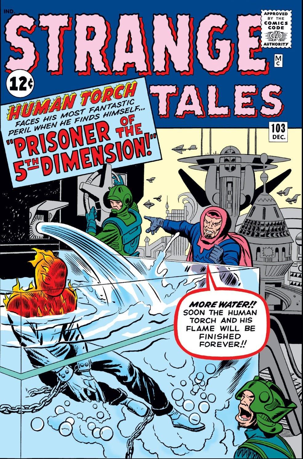 Strange Tales Vol 1 103 | Marvel Database | Fandom