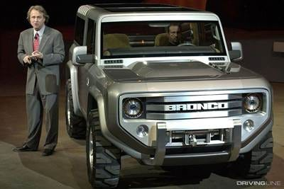 2004 Ford Bronco Concept Front View