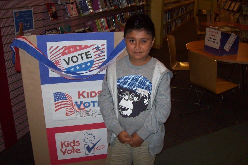 Kids Vote @ Edenvale Library