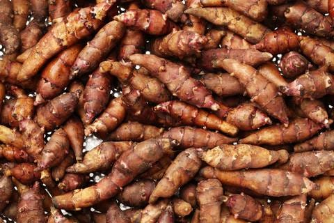 Jerusalem artichokes and mushrooms | From the Grapevine
