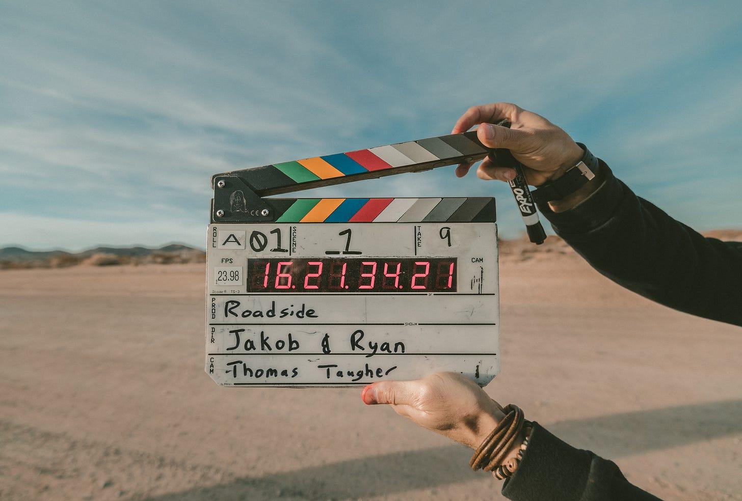 Movie production slate
