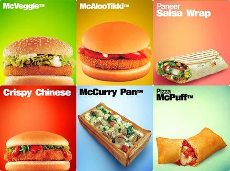 How Good is McDonalds? They're Selling Burgers in India. - The Reformed  Broker