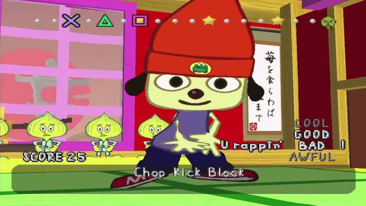 PaRappa The Rapper - Full Playthrough - YouTube