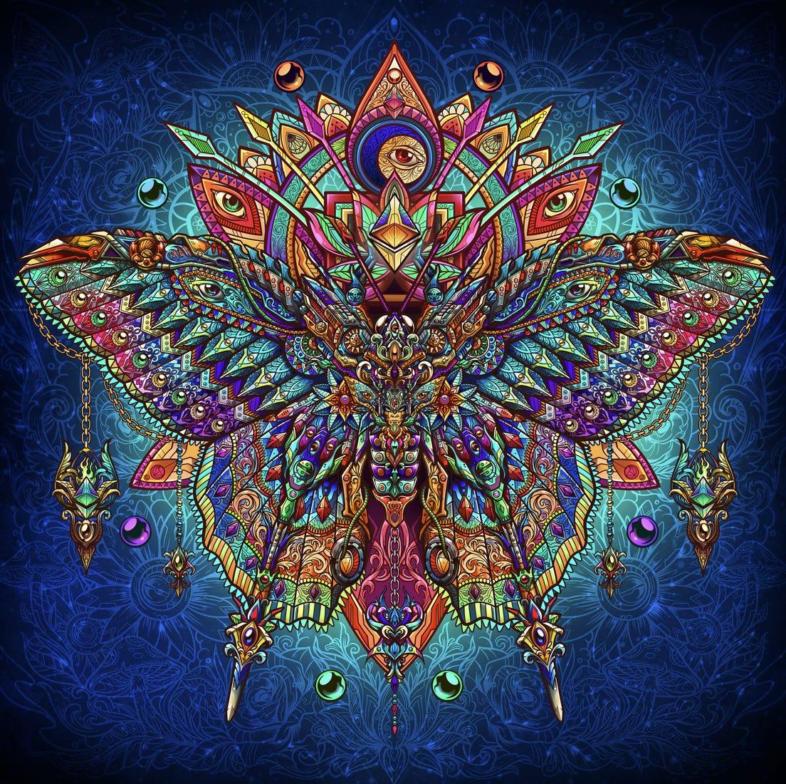 Butterfly dreams by jml2art