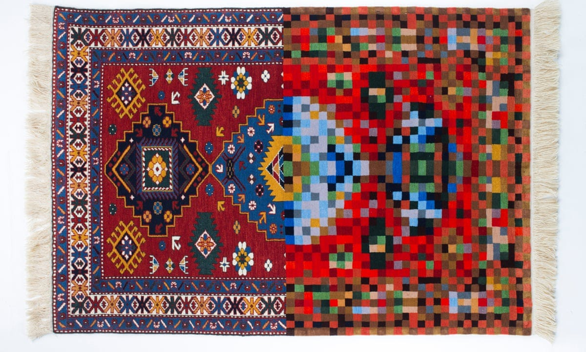 Magic carpets: the art of Faig Ahmed's melted and pixellated rugs | Art and  design | The Guardian